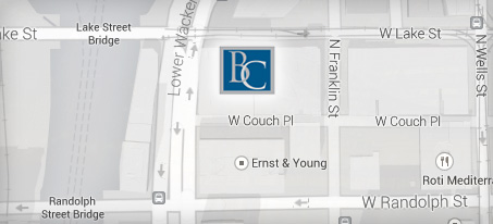 Bates Carey LLP Law Firm Map Chicago